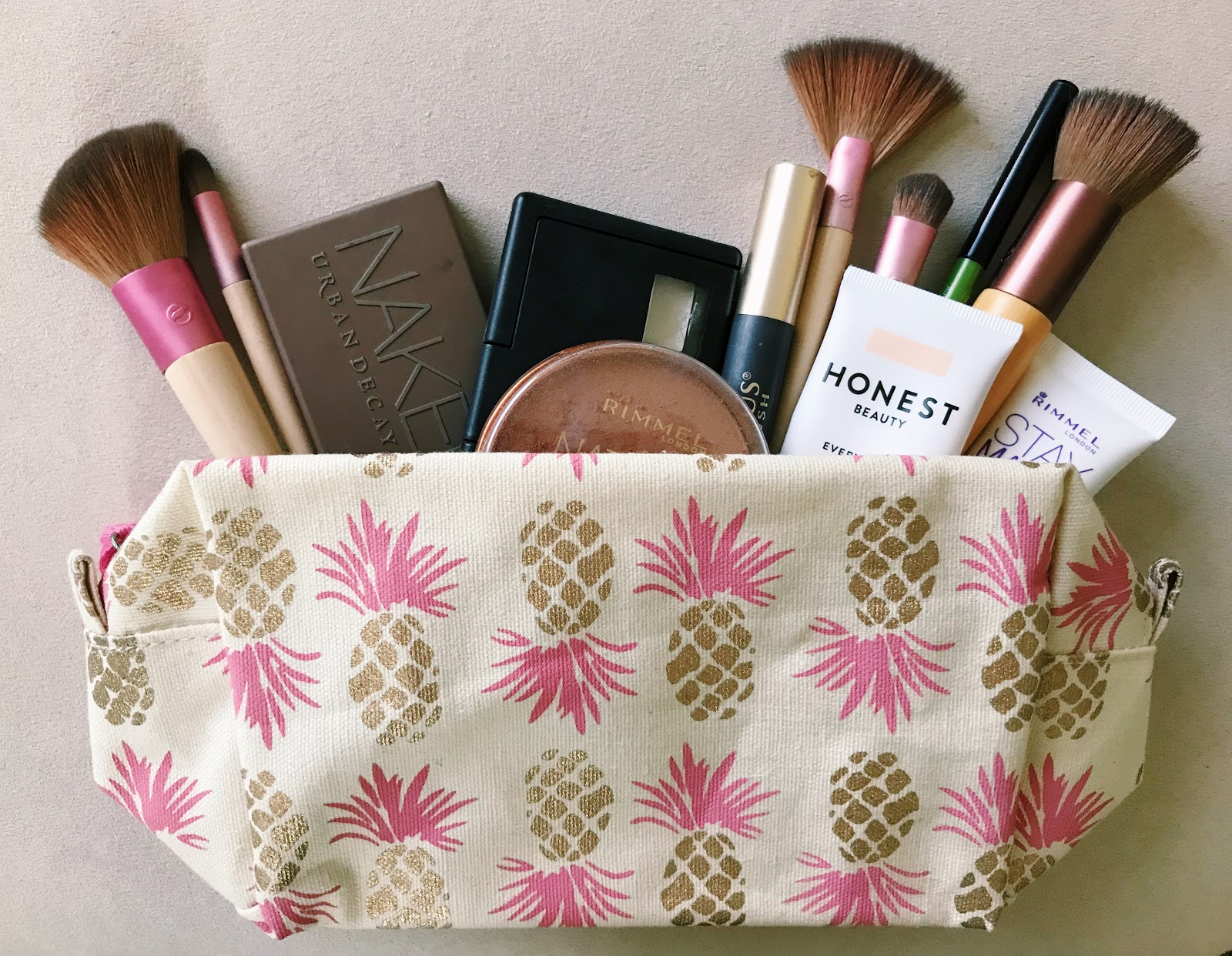 Thrifty Wife Happy Life Travel Must Haves With Rock Flower Paper