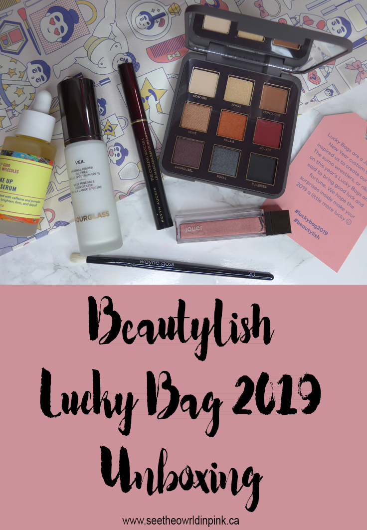 Beautylish Lucky Bag 2019 Unboxing!