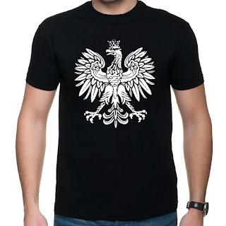Koszulka z orłem polskim