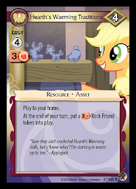 My Little Pony Hearth's Warming Traditions Marks in Time CCG Card