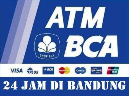 Lokasi Atm Bca 24 Jam Di Bandung Lengkap