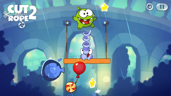 Screenshot Cut the Rope 2