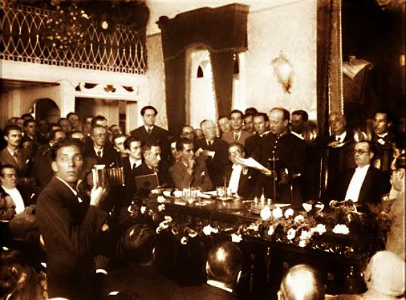 Flores da Cunha discursa quando governador