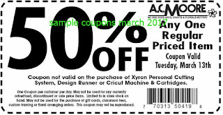 AC Moore coupons march 2017
