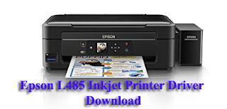Epson L485 Inkjet Printer Driver Software Downloads