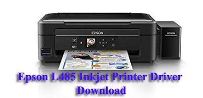 Epson L485 Inkjet Printer Wi-Fi Inktank Driver Software Downloads Free