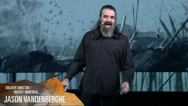 Jason Vandenberghe Ubisoft Creative Director Montreal E3