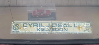 Cyril J Deal Ltd window sticker