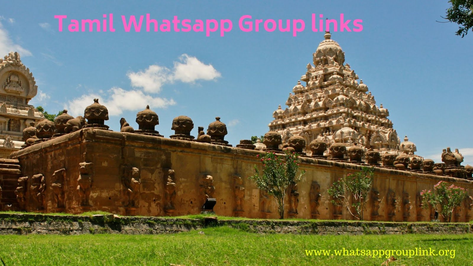 Whatsapp Group Link: Tamil Whatsapp Group Links