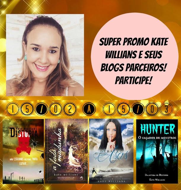 sorteio, livros, Kate Willians, distopia, fada madrinha
