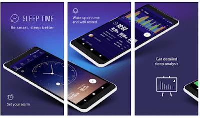 aplikasi yang mampu menganalisa waktu tidur yang cukup pada tubuh