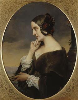 Henri Lehmann - Marie d'Agoult- 1843 - Paris, Carnavalet.