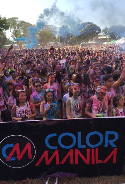 COLOR MANILA Just Had Another Sold Out Event At Clark Pampanga For CM Challenge Run