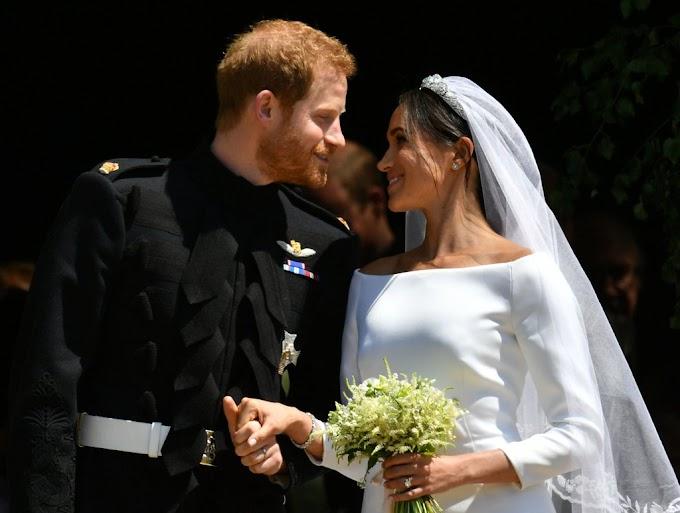 #Royalwedding: Photos: Prince Harry & Meghan Markle's Beautiful Royal Wedding.
