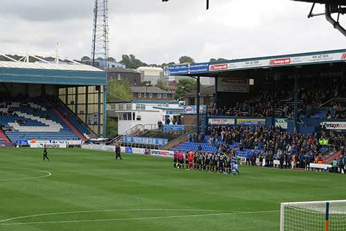 Oldham Athletic 0 v Wigan Athletic 2.