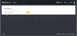 Cara Daftar Blog ke Yandex Webmaster