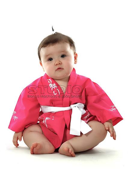 fotografias de bebes japoneses