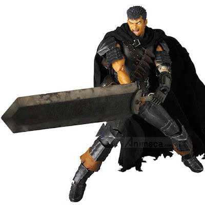 Figura Guts Black Swordsman Ver. Real Action Heroes (RAH) No.704 Berserk