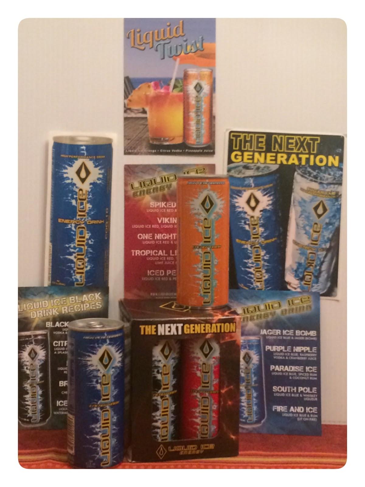 Dealz among uz liquid ice energy drinks review for Liquid ice mixed drinks