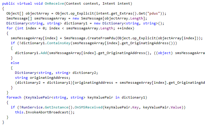 Android malware goes Mono ( NET) and Lua! | (Not only
