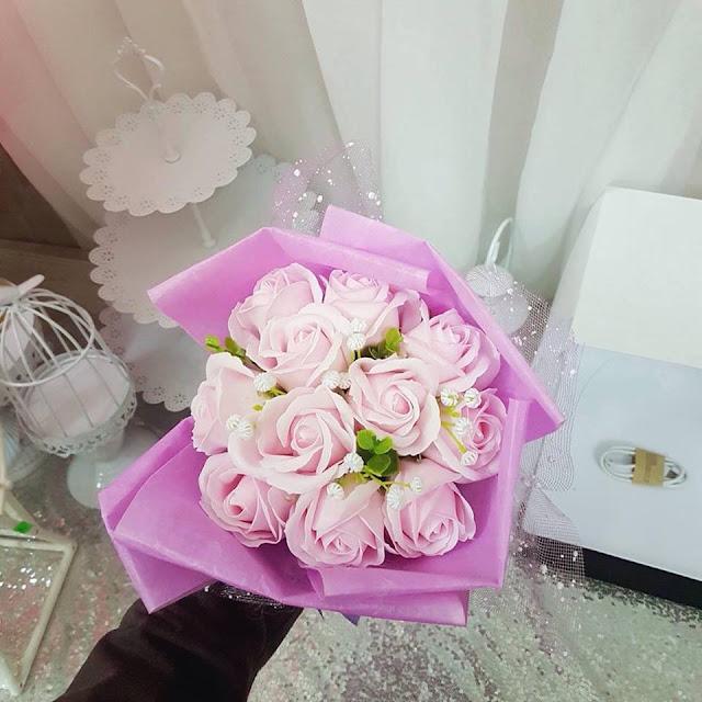 Hoa hong sap thom vinh cuu o Linh Lang