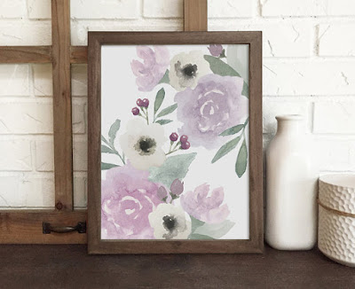 https://www.etsy.com/listing/290950781/purple-watercolor-floral-print-purple