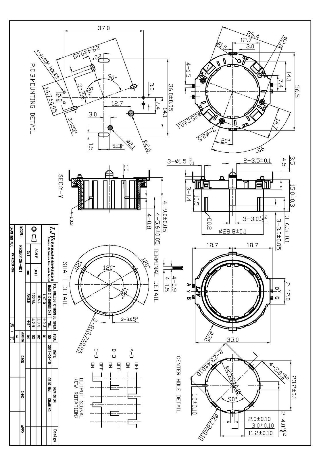 Ljv Encoders Potentiometers Amp Switch
