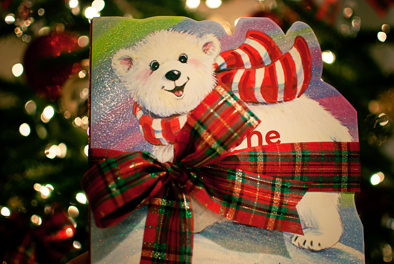 One Christmas Bear a Cute and Cuddly Christmas Polar Bear Story Book #OneChristmasBear #ChristmasBook #ChristmasTraditions