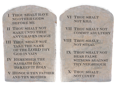 An introduction to the mythology of the mosaic law in the bible