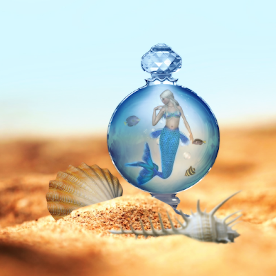 Mermaid in a Bottle Set