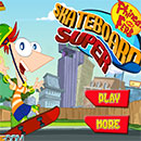 Phineas and Ferb Super Skateboard