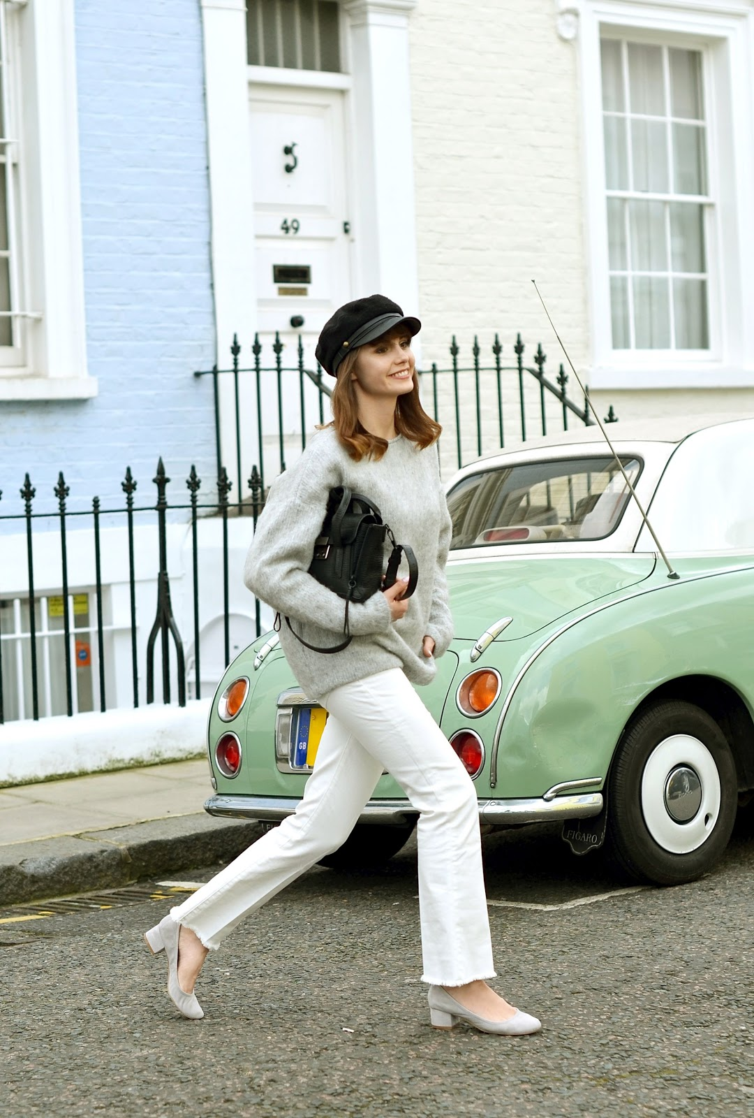 stylizacja z londynu | miminalistyczna stylizacja | blogi o modzie