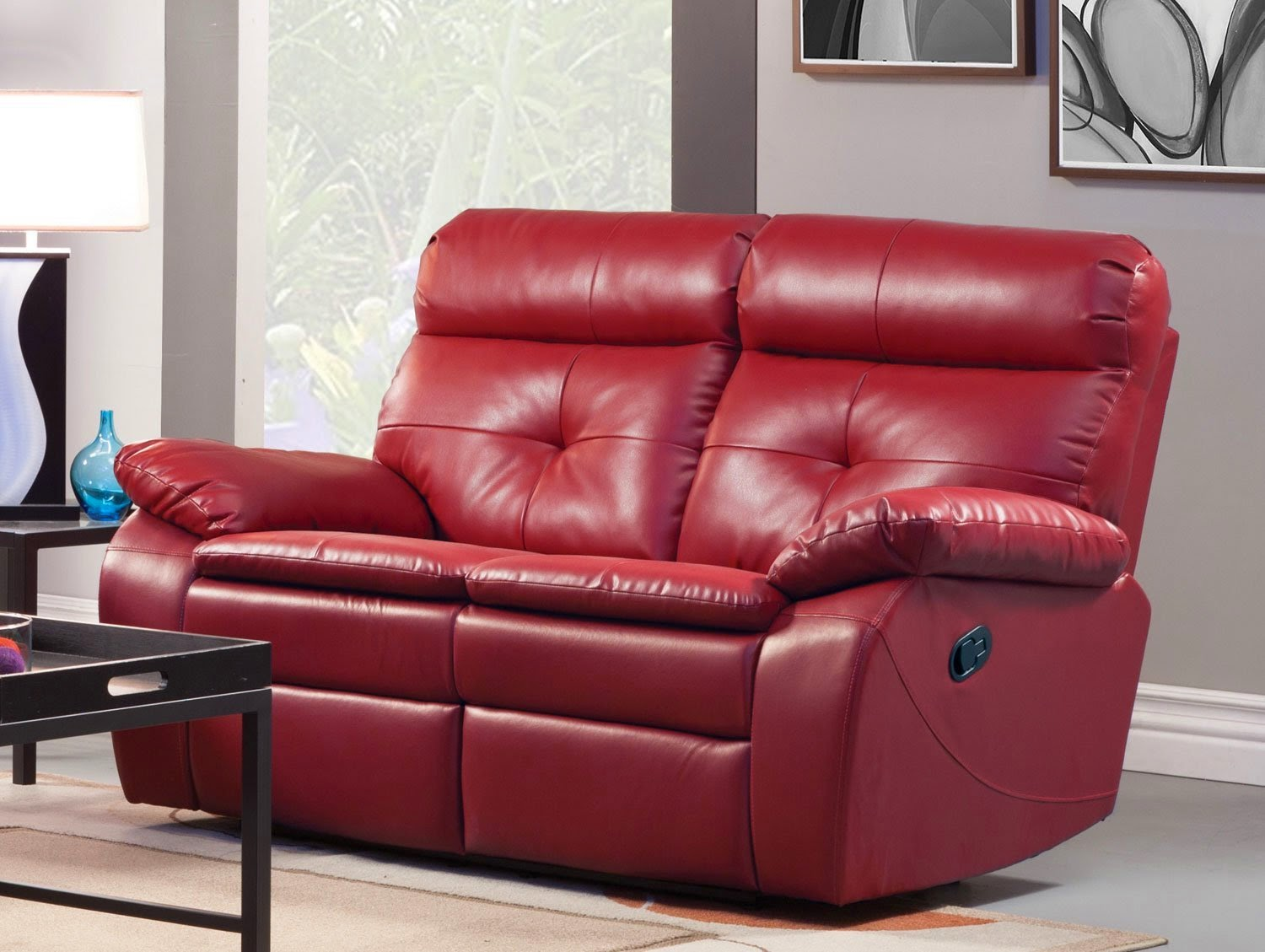 red leather sofa sets on sale hickory chair slipcover the best reclining reviews