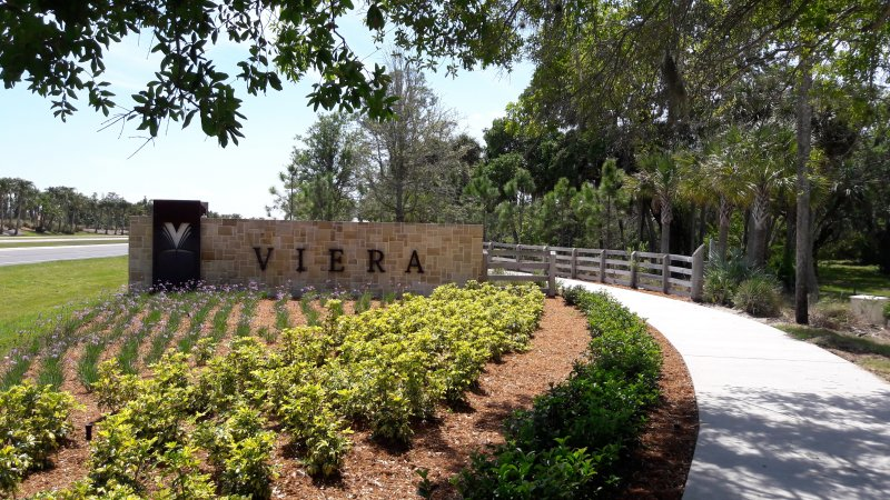 Viera Central Welcome Sign - Viera, FL