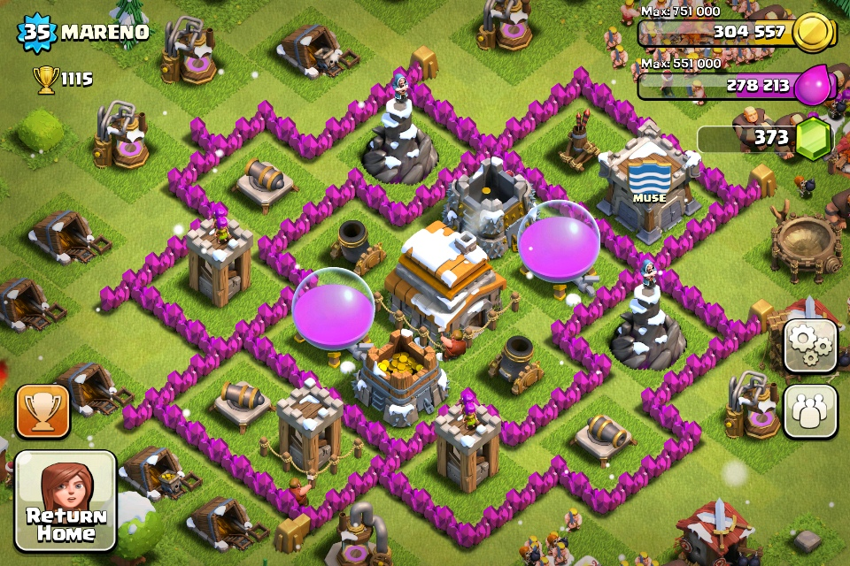 Town Hall 6 | Clash Of Clans