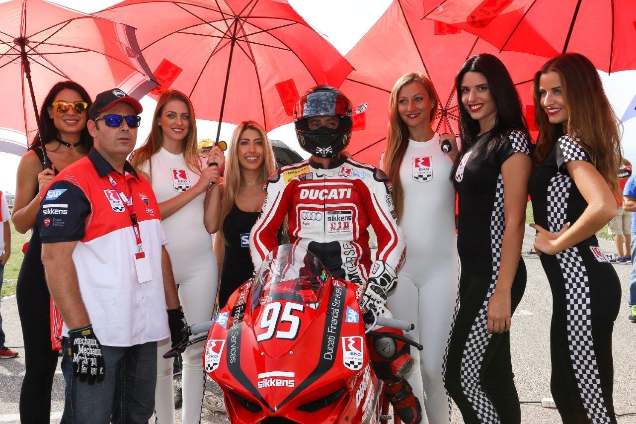 Σάκης Συνιώρης και Ducati Panigale Πρωταθλητές Ελλάδας 2016