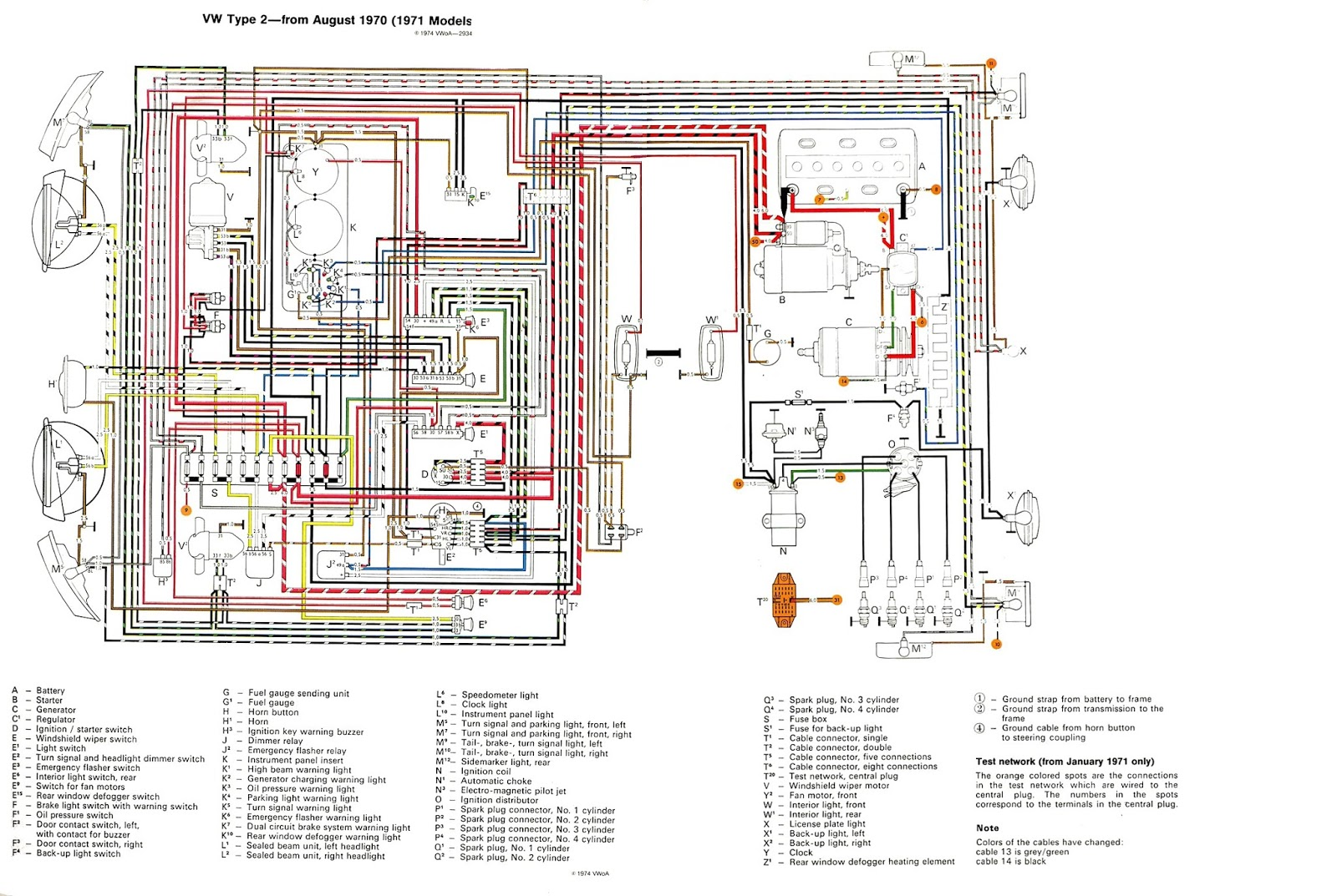Vw Subaru Conversion Engine Wiring Harness Library Diagram While Busy The Is Readable Components Are Accurately Drawn And There