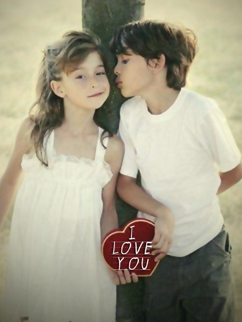Baby Love Wallpaper For Mobile : cute Kids - Love couple Mobile Wallpaper Mobile ...