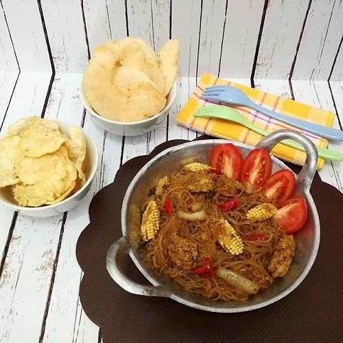Resep Bihun Goreng Saus Barbeque
