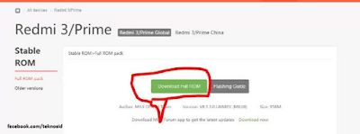 Redmi 3 Flash File