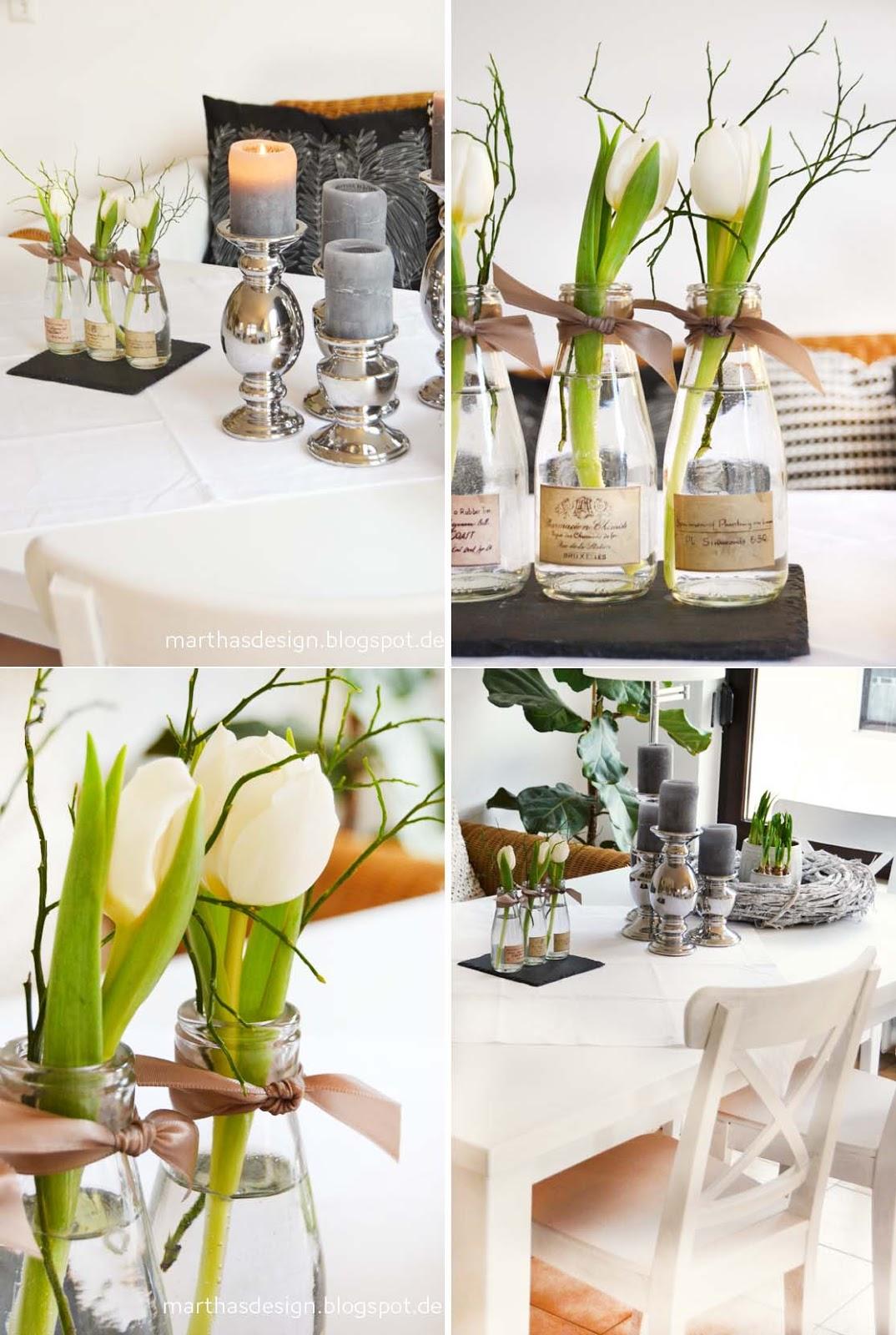 Schone Tischdeko Vintage Tischdeko Baumscheiben Blumen Korb Spitze