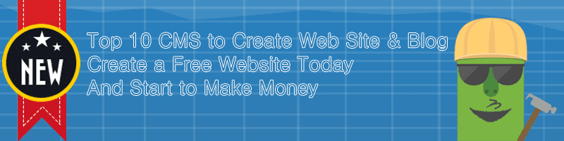 2015 Top 10 Free CMS to Create Website