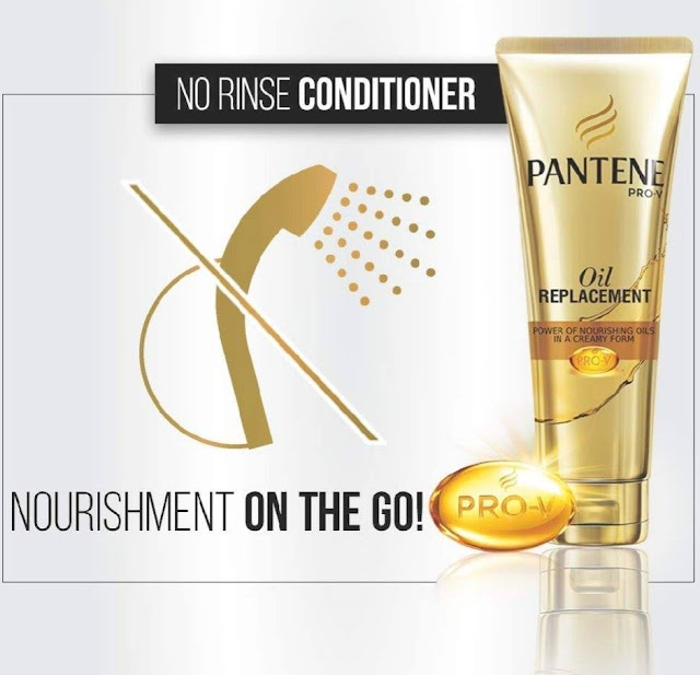 Pantene PRO-V Oil Replacement Review- how to use it.