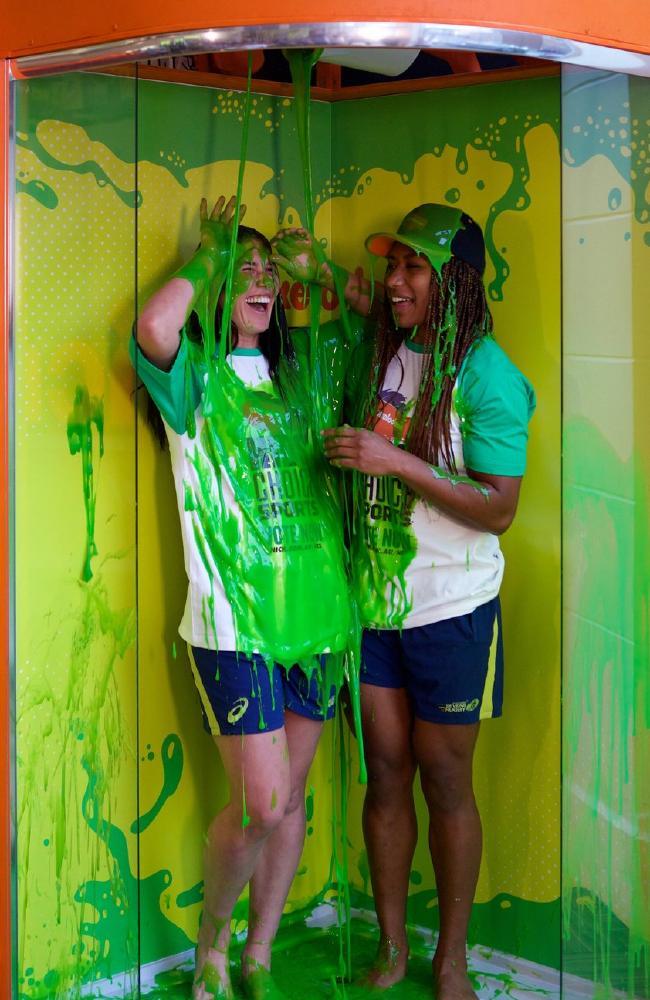 Kids Choice Sports 2017 Slime : choice, sports, slime, NickALive!:, Nickelodeon, Announces, Winners, Kids', Choice, Sports, Australia, Zealand