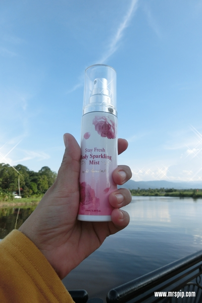 Haruman Althea Stay Fresh Body Sparkling Mist || Light & Sweet