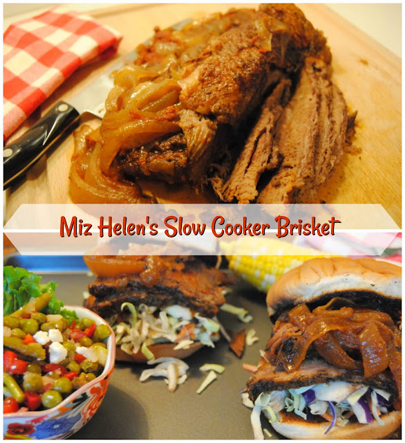 Miz Helen's Slow Cooker Brisket at Miz Helen's Country Cottage