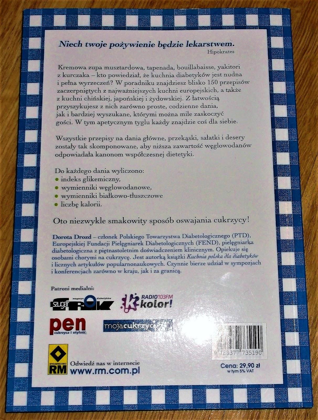 Recenzja Książki Kuchnia świata Dla Diabetyków