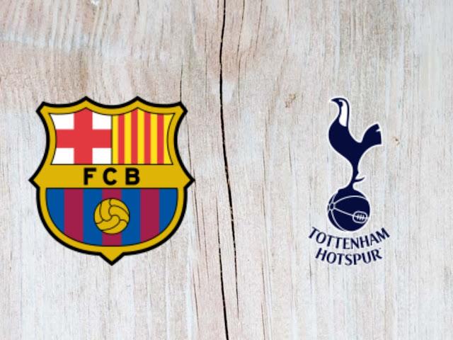 Watch Barcelona vs Tottenham Hotspur Full Match & Highlights - 29 July 2018