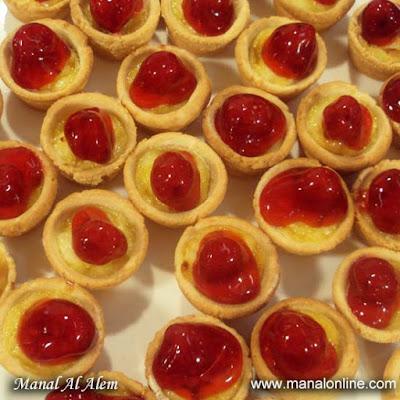 ميني تشيز كيك تارت - مطبخ منال العالم