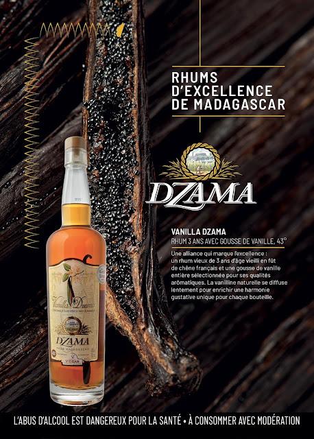 design graphique affiche pour le rhum vieux Vanilla 3 ans